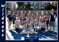 2015 Middle School Tennis