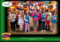 Girl Scout Pinewood Derby 2016